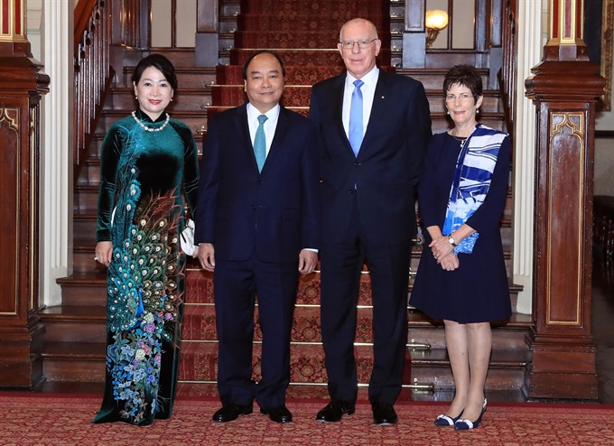 PM Nguyễn Xuân Phúc meets New South Wales leaders