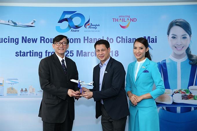 Bangkok Airways to launch the first Hà Nội-Chiang Mai direct flight