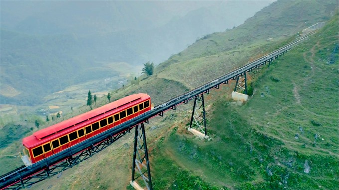 Sa Pa Town Fansipan station to be linked by train