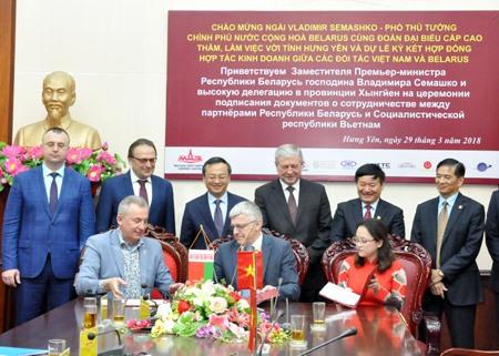 Belarus to start auto venture in Hưng Yên