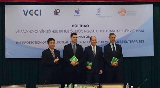 WIPO Việt Nam firms talk IP rights