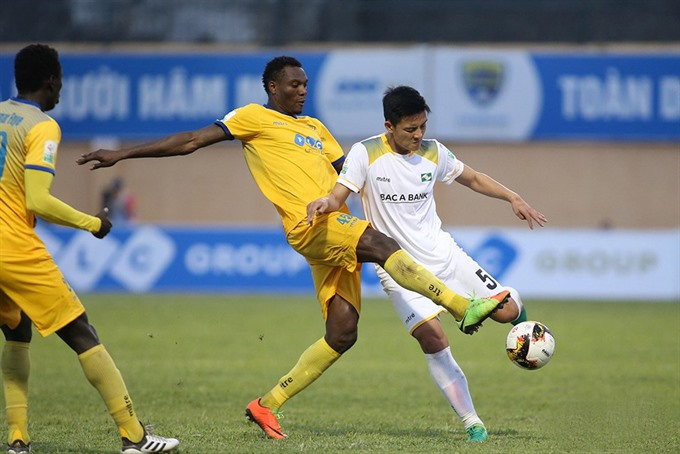 Thanh Hóa win V.Leagues south central derby