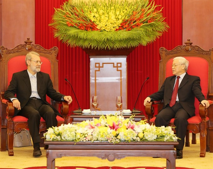 Việt Nam wants to bolster traditional ties with Iran: Party Chief