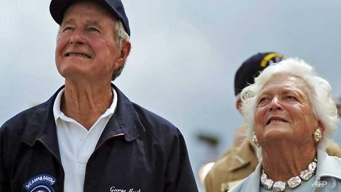 Former first lady Barbara Bush 92 in failing health
