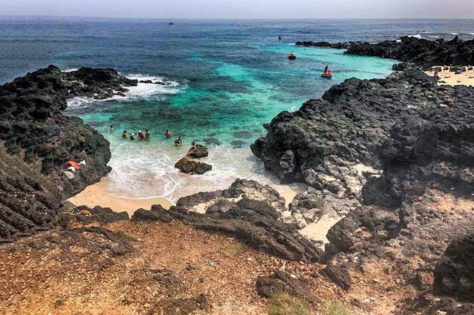 Lost on Lý Sơn Island