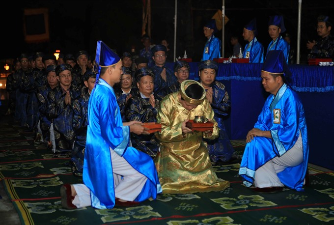 Huế holds prayer ceremony mimicking imperial ritual