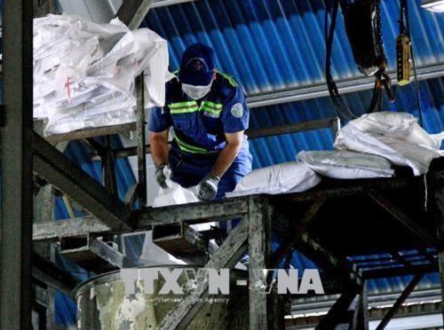 City uses high-tech to treat hazardous waste