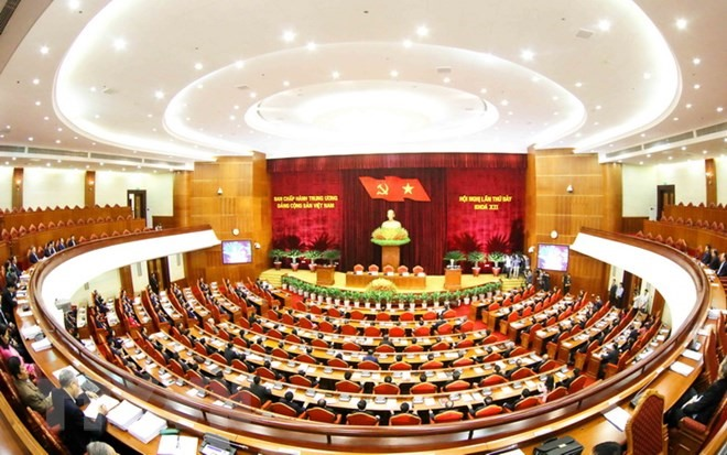 Party Central Committee concludes 7th session