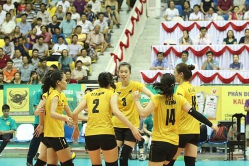 Bình Điền Long An win third volleyball match