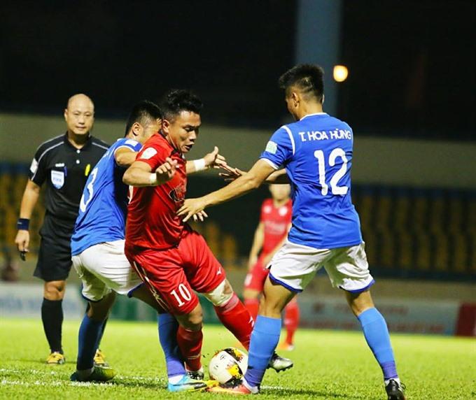 Quảng Ninh Coal beat HCM City in V.League 1