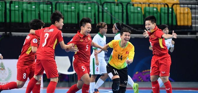 Việt Nam enter AFC futsal events semi-finals