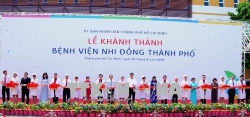 City Paediatrics Hospital opens in HCM Citys Bình Chánh District