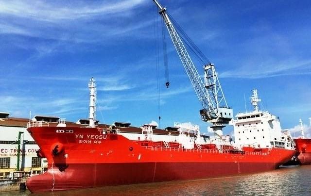 Phà Rừng Shipyard delivers oil tanker