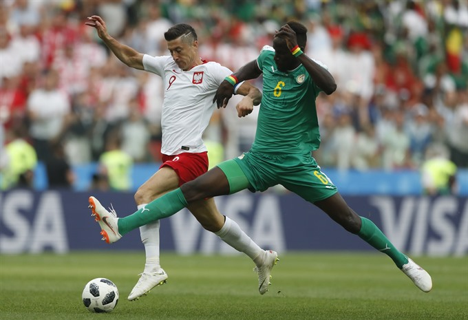 Senegal defeat Poland 2-1