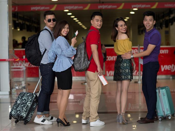 Vietjet selling tickets on Nha Trang-Đà Nẵng route