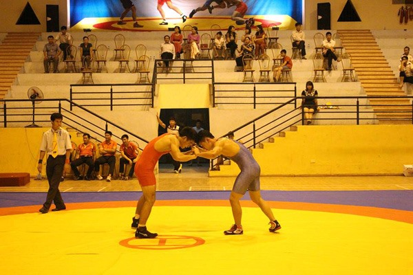 National junior wrestling champs starts in Tuyên Quang