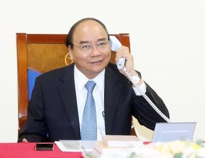 Vietnamese Danish PMs phone call