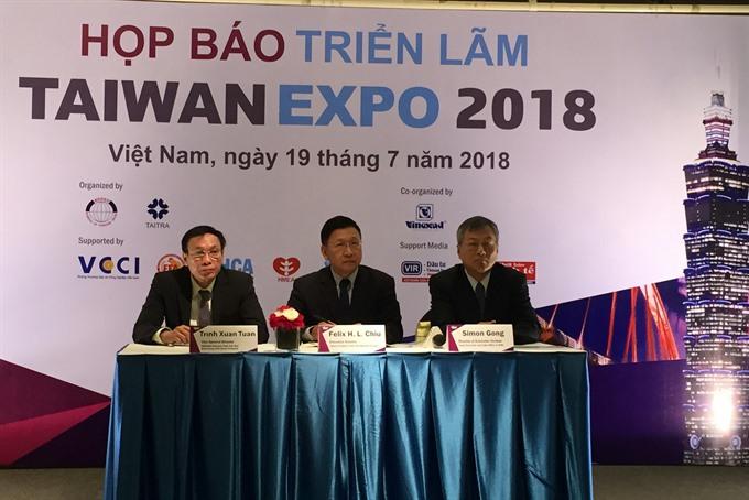 HCM City to host Taiwan Expo