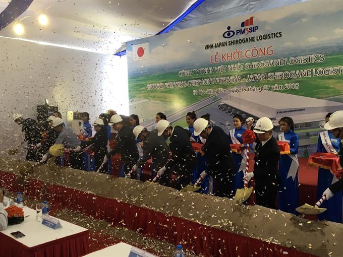 VN-Japan joint venture builds logistics centre in Bà Rịa – Vũng Tàu