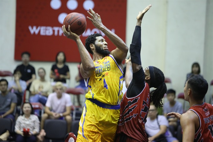 Thang Long Warriors defeat Hochiminh City Wings by Jetstar