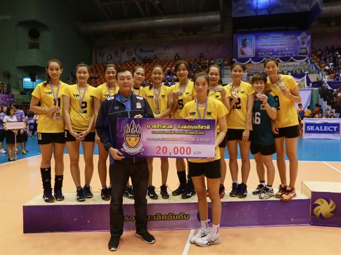 VTV Bình Điền Long An win silver at Sealect Tuna Cup 2018