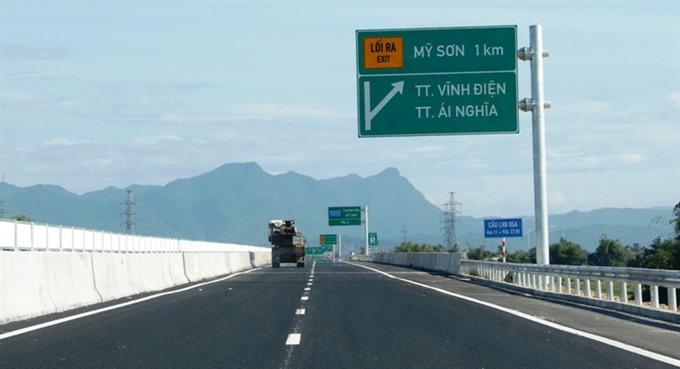 Đà Nẵng-Quảng Ngãi Highway to open for traffic on National Day