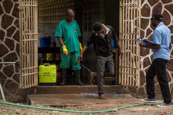 Nine confirmed dead in DR Congos Ebola outbreak: ministry