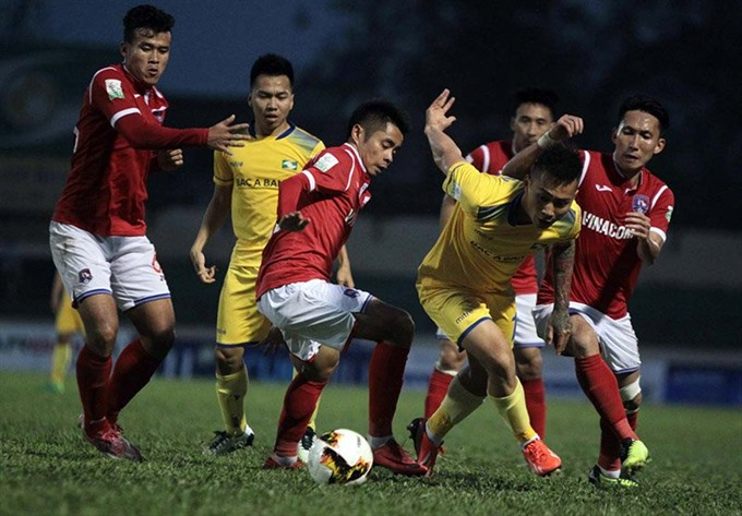 SLNA tie with Quảng Ninh in V.League 1