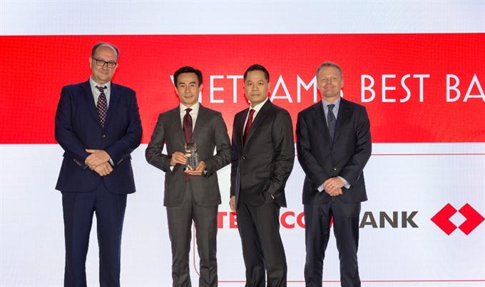 Techcombank named best bank in Việt Nam 2018