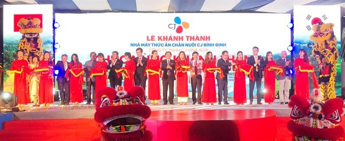 CJ Group opens new plant in Bình Định