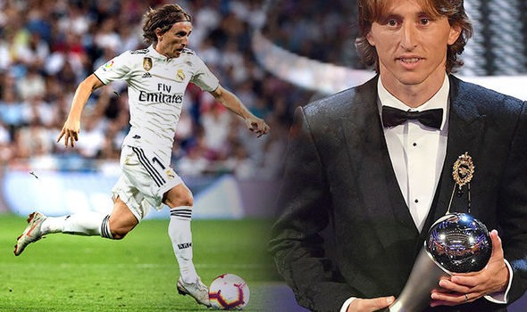 Modric ends Ronaldo-Messi era to be crowned worlds best