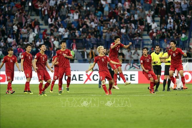 Việt Nams victory over Jordan at Asian Cup grabs intl headlines