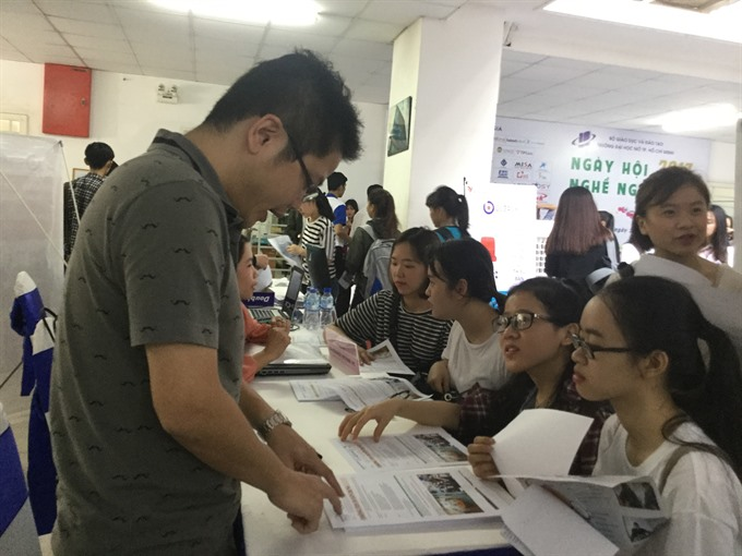 Job openings as firms relocate from China to VN