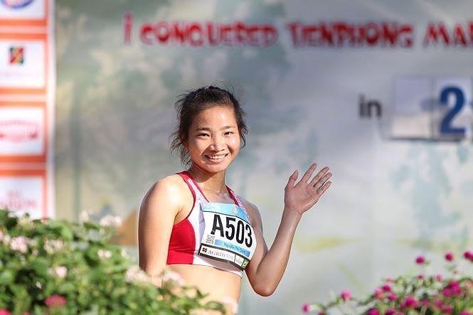 Small steps help runner break records
