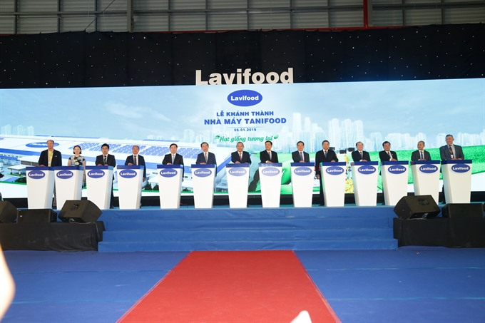 Lavifood plant opens in Tây Ninh