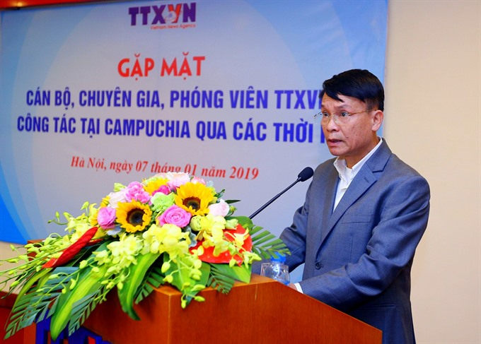 VNA journalists recall reporting from Cambodia