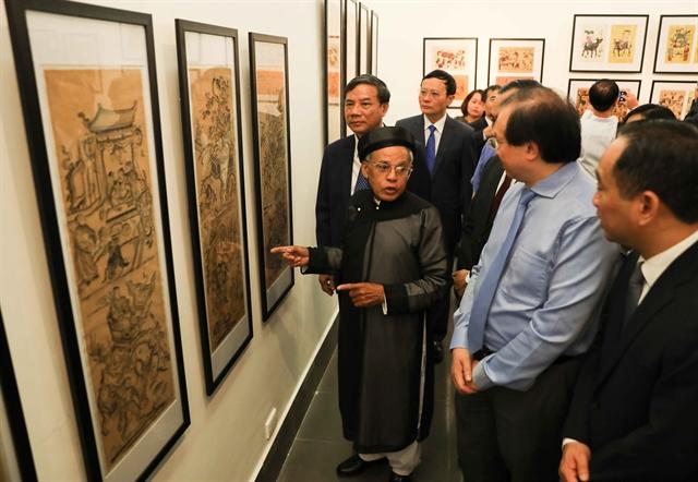 Đông Hồ folk printexhibition opens in Hà Nội