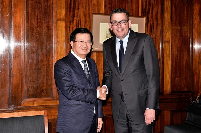 Deputy PM lauds Australian states cooperation with Vietnamese localities