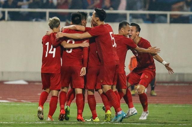 Việt Nam climb to world No 94 in FIFA rankings