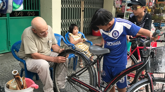 American veteran finds peace in his new life in VN
