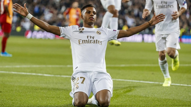 Rodrygo makes history as Madrid put six past Galatasaray