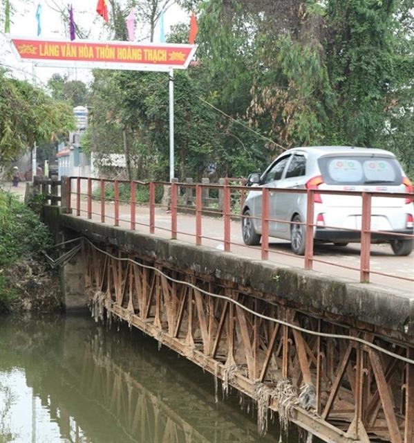 Vĩnh Phúc invests in upgrading bridges