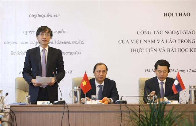 Workshop discusses Việt Nam-Laos economic diplomacy