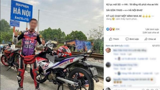 Speed demonfined for social media hoax
