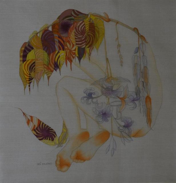 Female artist to showcase silk paintings