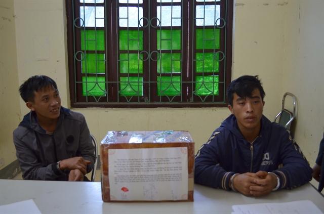 Điện Biên police arrest two for drug smuggling