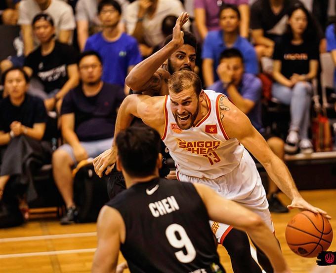 Saigon Heat beat Formosa Dreamers at ABL