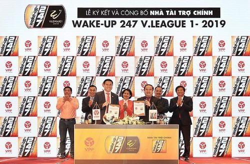 V.League receives big sponsorship deal