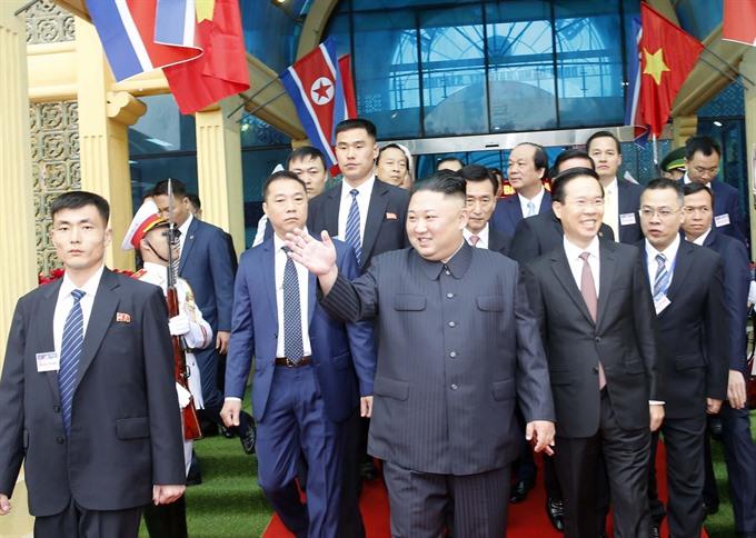 DPRK Chairman arrives in Lạng Sơn
