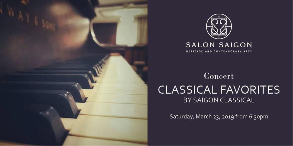 Classical Favorites at Salon Saigon combines music visual arts